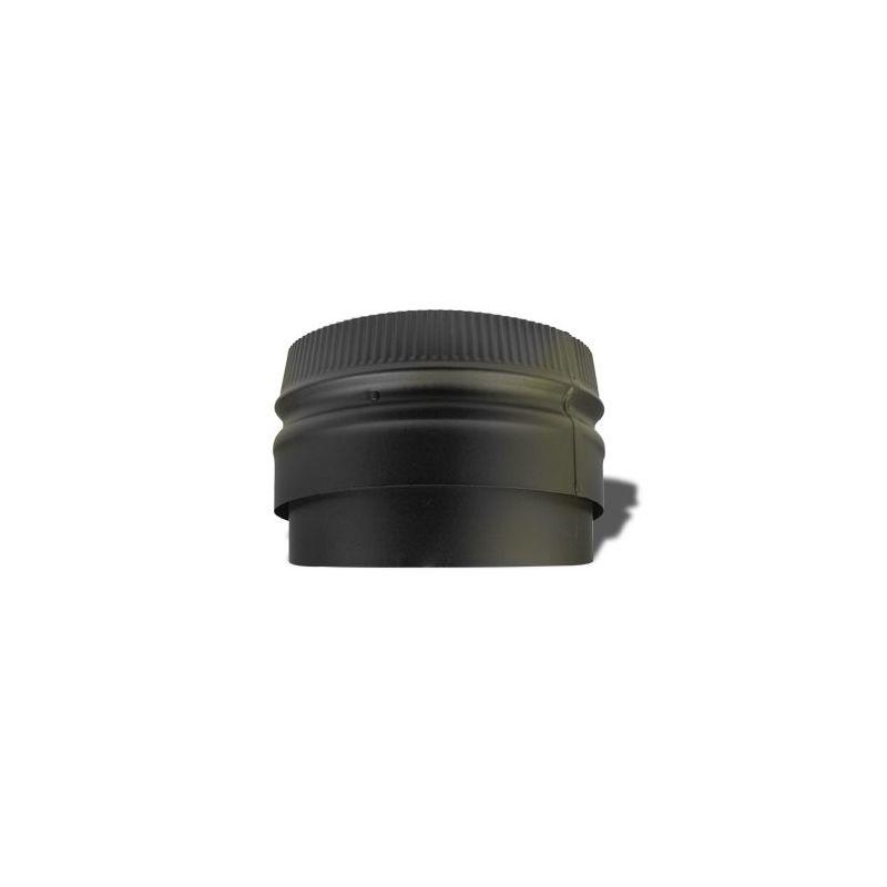 "Metalbest 266249 Black 6"" Inner Diameter - DSP Stove Pipe ..."